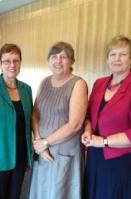 Lesley Clark, Robin Sullivan & Leigh Tabrett